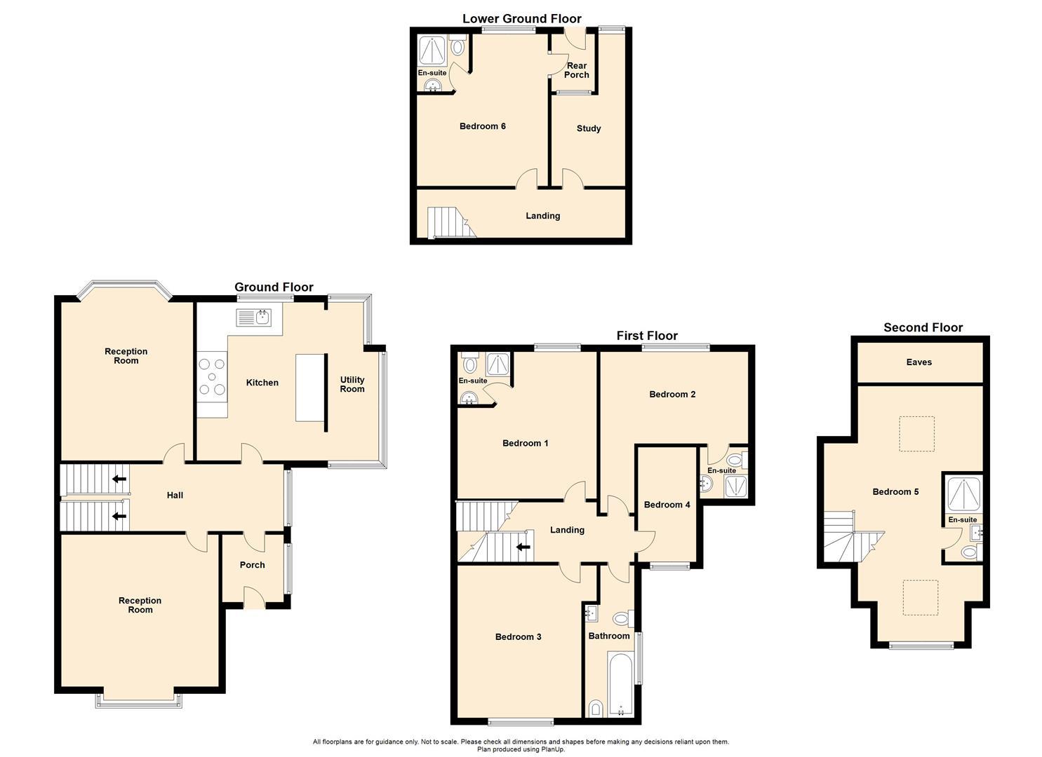 6 Bedroom Semi-detached House For Sale - 12 Dukes Street.jpg